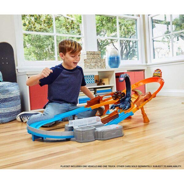 Hot Wheels Hot Wheels Monster Trucks Πίστα Σκορπιός GNB05 Hot Wheels 4-5 ετών Αγόρι