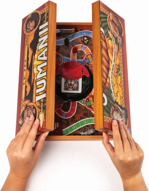 Spin Master  Jumanji - Ξύλινη Συσκευασία (6059740) Αγόρι, Κορίτσι 12 ετών +, 7-12 ετών