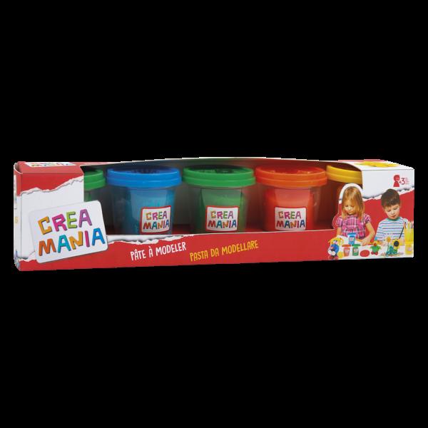 Creamania 5 Bαζάκια Πλαστελίνης Creamania Αγόρι, Κορίτσι 3-4 ετών, 4-5 ετών