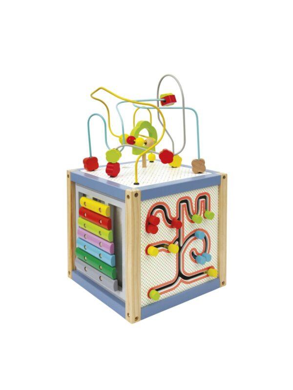 Wood' N Play Κύβος Πολλών Δραστηριοτήτων Wood' N Play Αγόρι, Κορίτσι 12-24 μηνών, 2-3 ετών