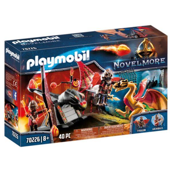 Playmobil Novelmore Ιππότες Του Μπέρναμ Με Δράκο 70226 Playmobil, Playmobil Novelmore Αγόρι 7-12 ετών