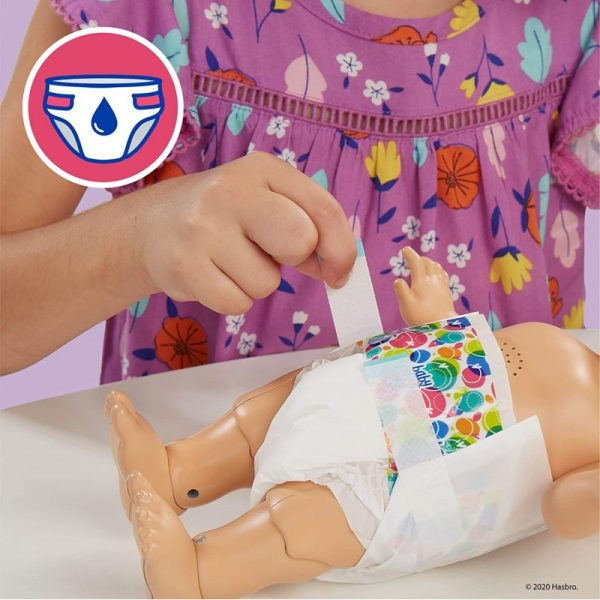 Baby Alive Baby Gotta Bounce Doll, Frog Outfit, Bounces With 25+ SFX And Giggles E9427 3-4 ετών, 4-5 ετών Κορίτσι BABY ALIVE Baby Alive