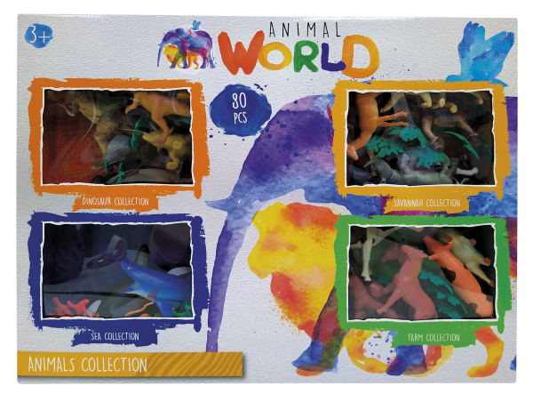 Animal World Maxi Set Ζώα Animal World Αγόρι, Κορίτσι 3-4 ετών, 4-5 ετών