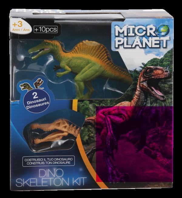 Κιτ Συναρμολόγησης Σκελετού Δεινοσαύρου  Αγόρι, Κορίτσι 3-4 ετών, 4-5 ετών Micro Planet