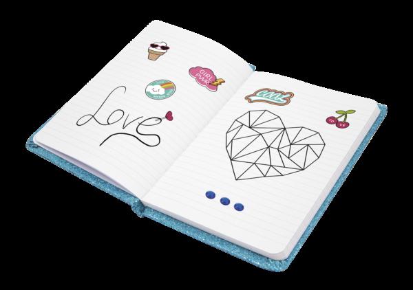 Creamania Sparkling Notebook Set  Αγόρι, Κορίτσι 5-7 ετών, 7-12 ετών Creamania