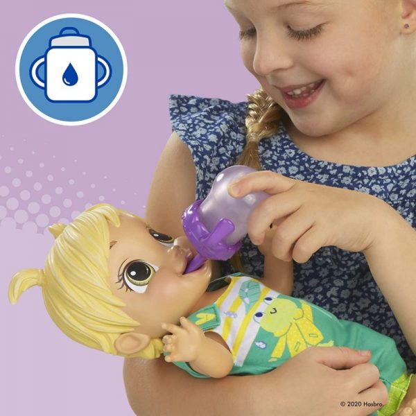 Baby Alive Baby Alive Baby Gotta Bounce Doll, Frog Outfit, Bounces With 25+ SFX And Giggles E9427 BABY ALIVE 3-4 ετών, 4-5 ετών Κορίτσι