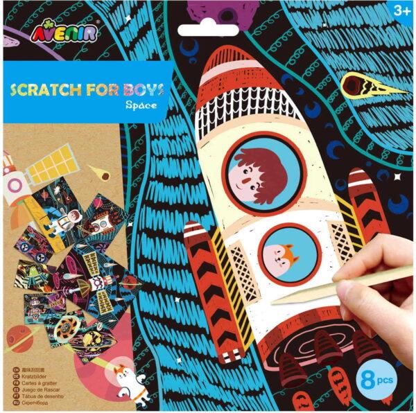 Avenir Scratch- space 60117 Avenir Αγόρι, Κορίτσι 3-4 ετών, 4-5 ετών