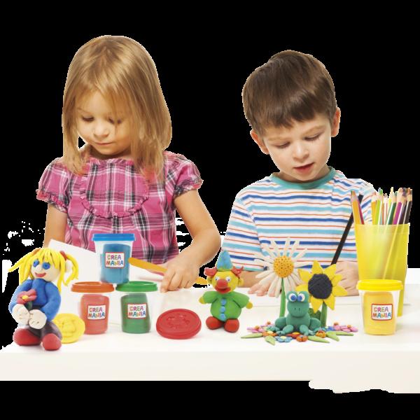 Creamania 5 Bαζάκια Πλαστελίνης  Αγόρι, Κορίτσι 3-4 ετών, 4-5 ετών Creamania