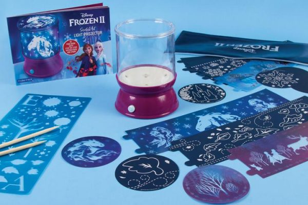 Make it Real Frozen Make it Real - Disney Frozen II ScratchArt Light Projector (4324) 060192 Κορίτσι 12 ετών +, 7-12 ετών