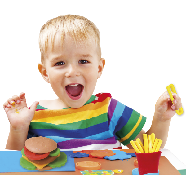 Creamania Set Hamburger Πλαστελίνη  Αγόρι, Κορίτσι 5-7 ετών, 7-12 ετών Creamania