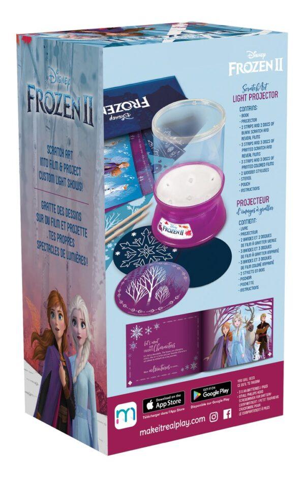Make it Real - Disney Frozen II ScratchArt Light Projector (4324) 060192 Frozen Κορίτσι 12 ετών +, 7-12 ετών Make it Real