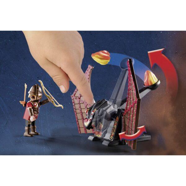 Playmobil, Playmobil Novelmore Αγόρι 7-12 ετών Playmobil Novelmore Ιππότες Του Μπέρναμ Με Δράκο 70226