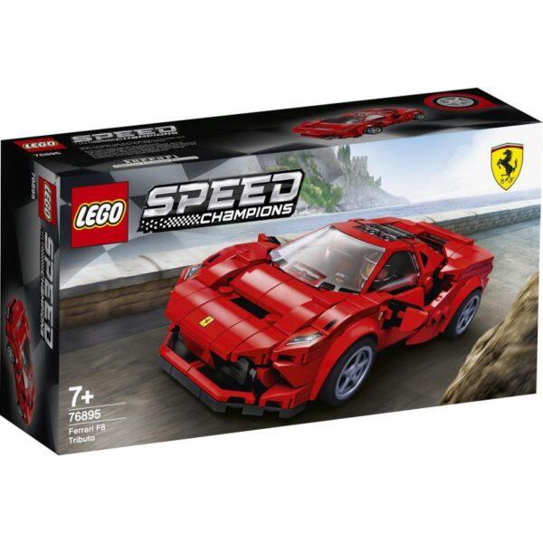 LEGO Speed Champions Ferrari F8 Tributo 76895 LEGO, Lego Speed Champions Αγόρι