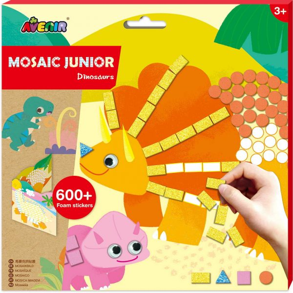 Avenir Mosaic Junior - dinosaurs 60304 Avenir Αγόρι 3-4 ετών, 4-5 ετών