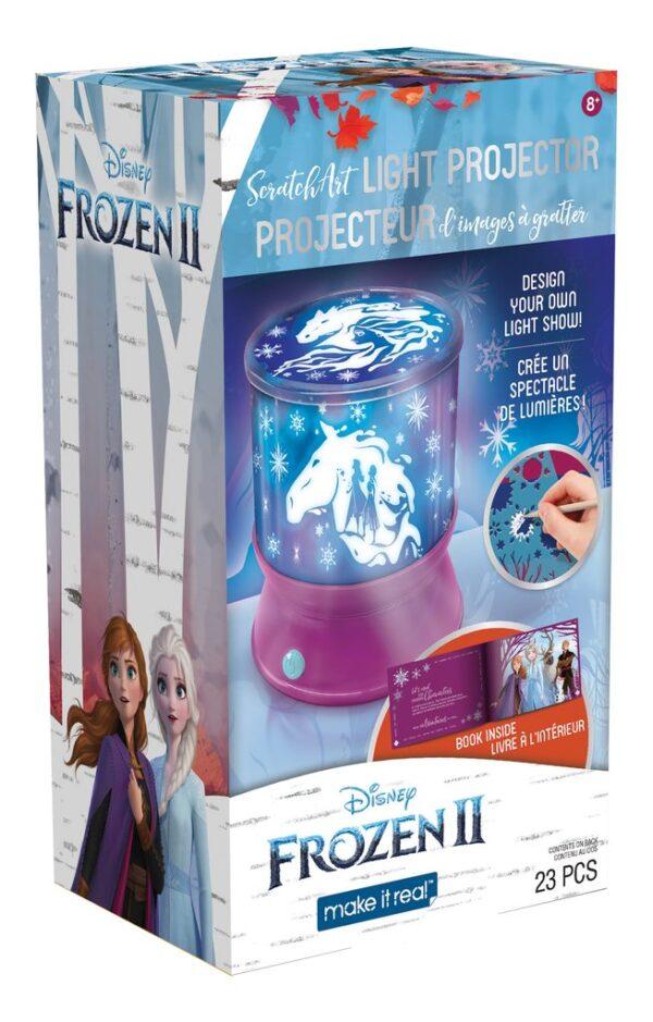 Make it Real - Disney Frozen II ScratchArt Light Projector (4324) 060192 Make it Real Κορίτσι 12 ετών +, 7-12 ετών Frozen