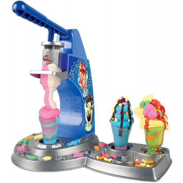 Play-Doh  Play-Doh Kitchen Creations Drizzy Ice Cream Playset E6688 Αγόρι, Κορίτσι 3-4 ετών, 4-5 ετών