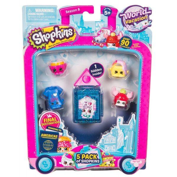 Shopkins S8 World Vacation w3  HPKA5000  Κορίτσι 5-7 ετών, 7-12 ετών Shopkins