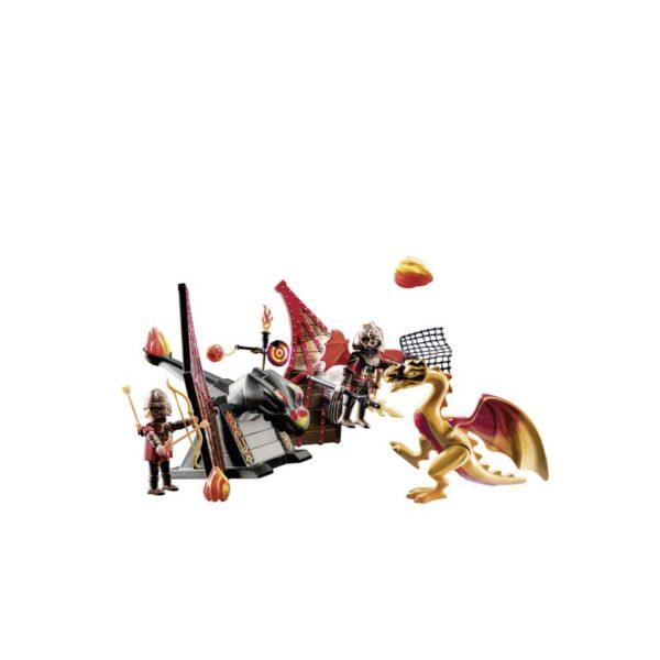 Playmobil Novelmore Ιππότες Του Μπέρναμ Με Δράκο 70226  Αγόρι 7-12 ετών Playmobil, Playmobil Novelmore