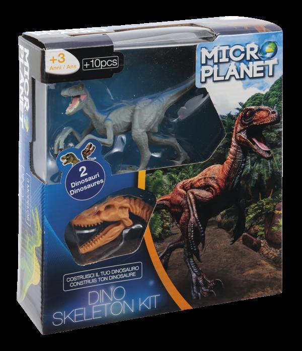 Micro Planet  Κιτ Συναρμολόγησης Σκελετού Δεινοσαύρου Αγόρι, Κορίτσι 3-4 ετών, 4-5 ετών