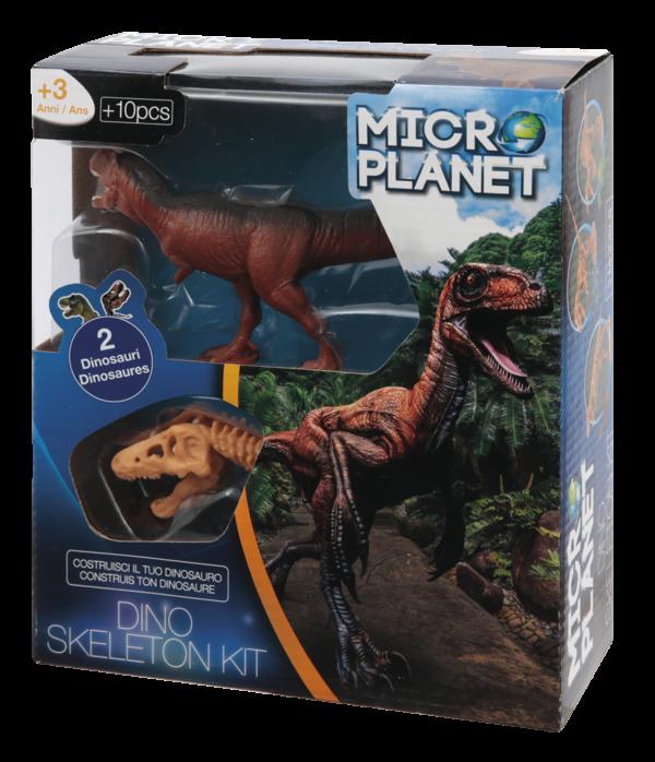 Κιτ Συναρμολόγησης Σκελετού Δεινοσαύρου Micro Planet Αγόρι, Κορίτσι 3-4 ετών, 4-5 ετών
