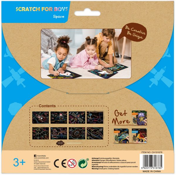 Avenir Scratch- space 60117  Αγόρι, Κορίτσι 3-4 ετών, 4-5 ετών Avenir