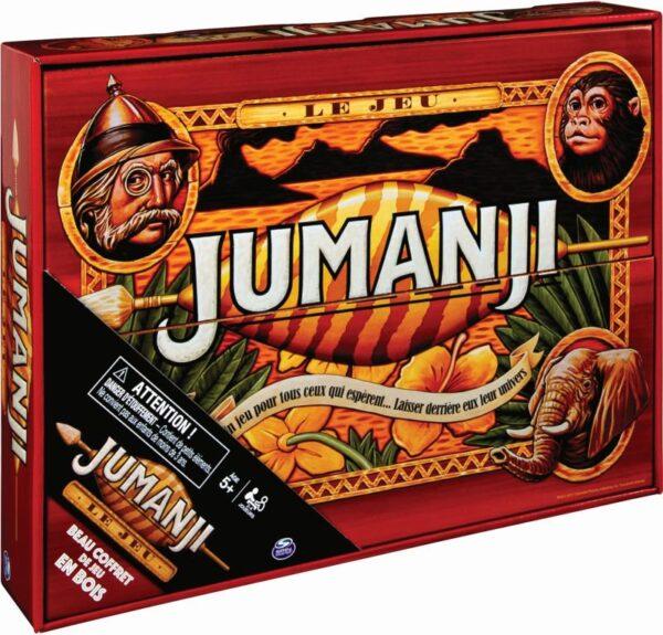 Jumanji - Ξύλινη Συσκευασία (6059740) Spin Master Αγόρι, Κορίτσι 12 ετών +, 7-12 ετών