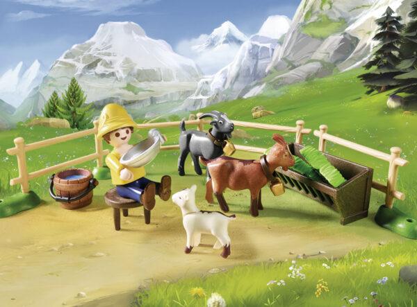 Playmobil Χάιντι Με Τον Παππού Στην Καλύβα 70253 4-5 ετών, 5-7 ετών Αγόρι, Κορίτσι Playmobil, Playmobil Heidi Heidi