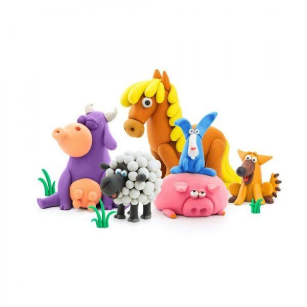 Hey Clay Animals Ζωάκια Από Πηλό  Αγόρι, Κορίτσι 3-4 ετών, 4-5 ετών Hey Clay