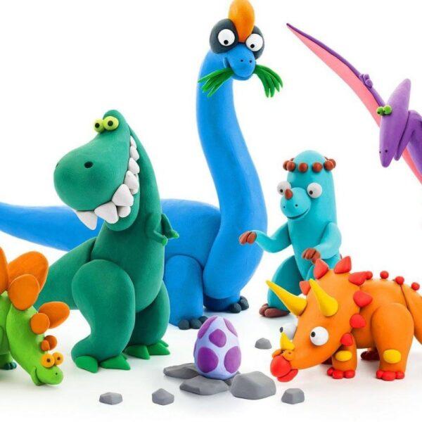 Hey Clay Δεινόσαυροι  Αγόρι, Κορίτσι 3-4 ετών, 4-5 ετών Hey Clay