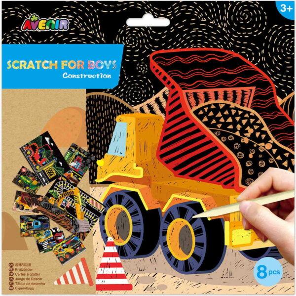 Avenir Scratch- construction 60118 Avenir Αγόρι, Κορίτσι 3-4 ετών, 4-5 ετών