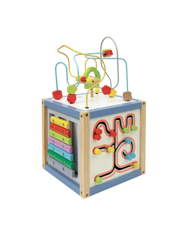 Wood' N Play  Wood' N Play Κύβος Πολλών Δραστηριοτήτων Αγόρι, Κορίτσι 12-24 μηνών, 2-3 ετών