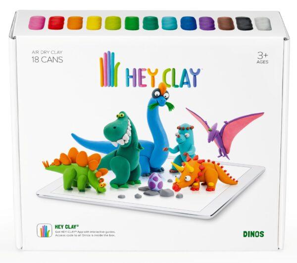 Hey Clay Δεινόσαυροι Hey Clay Αγόρι, Κορίτσι 3-4 ετών, 4-5 ετών