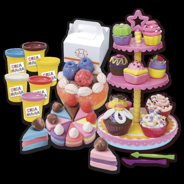 Creamania Set Γλυκών Πλαστελίνη  Αγόρι, Κορίτσι 5-7 ετών, 7-12 ετών Creamania