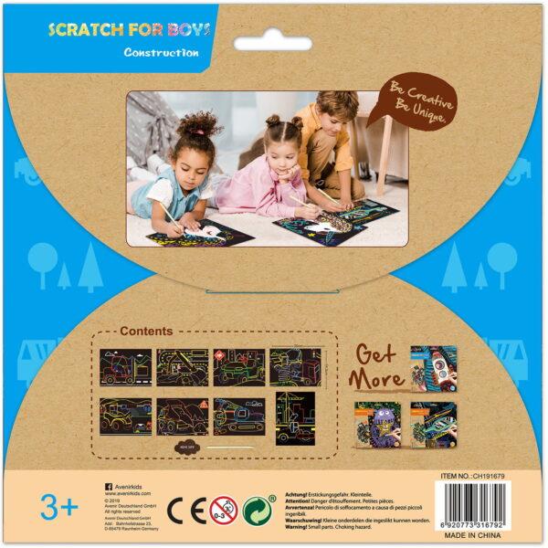 Avenir Scratch- construction 60118  Αγόρι, Κορίτσι 3-4 ετών, 4-5 ετών Avenir