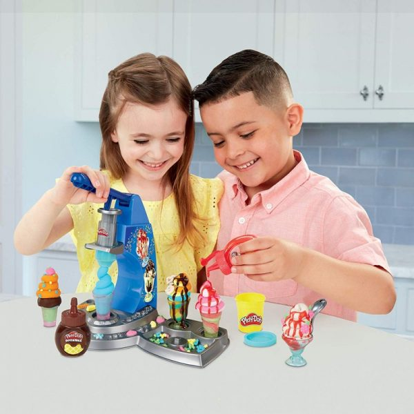Play-Doh Kitchen Creations Drizzy Ice Cream Playset E6688 3-4 ετών, 4-5 ετών Αγόρι, Κορίτσι Play-Doh