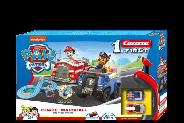 Carrera FIRST Set: PAW PATROL - On the Track - 1:50 (20063033) Carrera Αγόρι 3-4 ετών, 4-5 ετών Paw Patrol