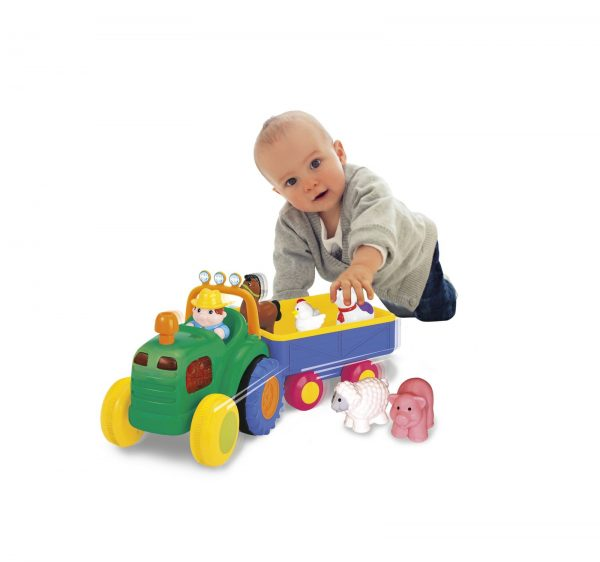Baby Smile Farm Tractor Baby Smile Κορίτσι 0-6 μηνών, 6-12 μηνών