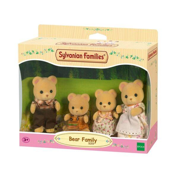 Sylvanian Families Sylvanian Families The Sylvanian Families - Οικογένεια Αρκούδων 5059 Κορίτσι 4-5 ετών, 5-7 ετών