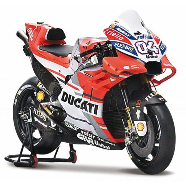 Maisto Ducati Moto Gp Desmosedici Andrea Dovizioso Motorcycle 1:18 31593 Maisto Αγόρι 4-5 ετών, 5-7 ετών