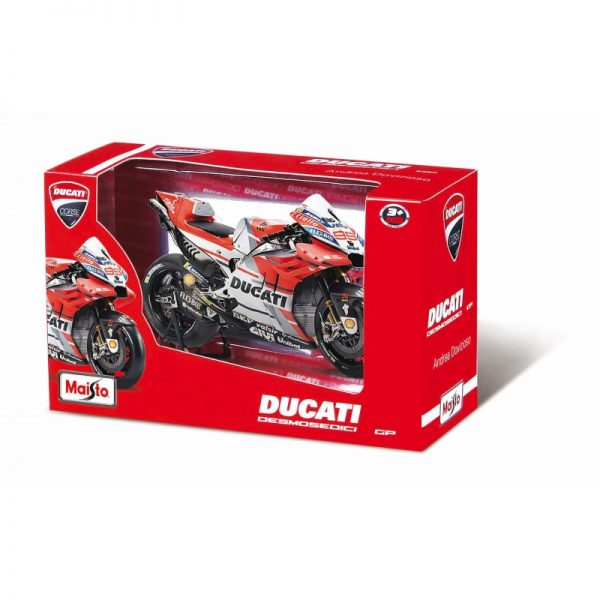 Maisto Ducati Moto Gp Desmosedici Andrea Dovizioso Motorcycle 1:18 31593  Αγόρι 4-5 ετών, 5-7 ετών Maisto