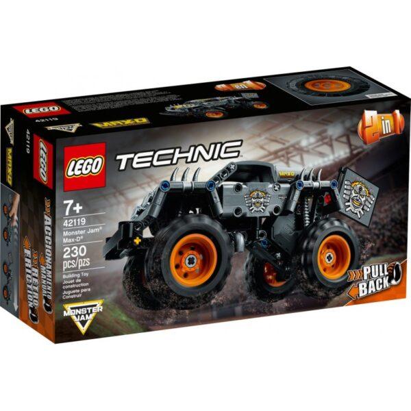 Lego Technic Monster Jam® Max-D® 42119 LEGO, Lego Technic Αγόρι 12 ετών +, 7-12 ετών