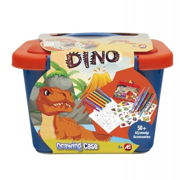 As company Βαλιτσάκι Ζωγραφικής Dinos 1023-77205  Αγόρι 3-4 ετών, 4-5 ετών, 5-7 ετών AS Company Games