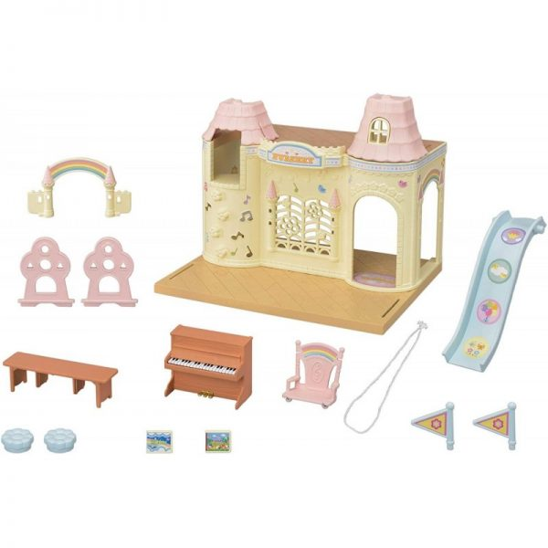 Sylvanian Families Sylvanian Families Sylvanian Families: Baby Castle Nursery - Κάστρο Νηπιαγωγείο 5316 Κορίτσι 3-4 ετών, 4-5 ετών, 5-7 ετών