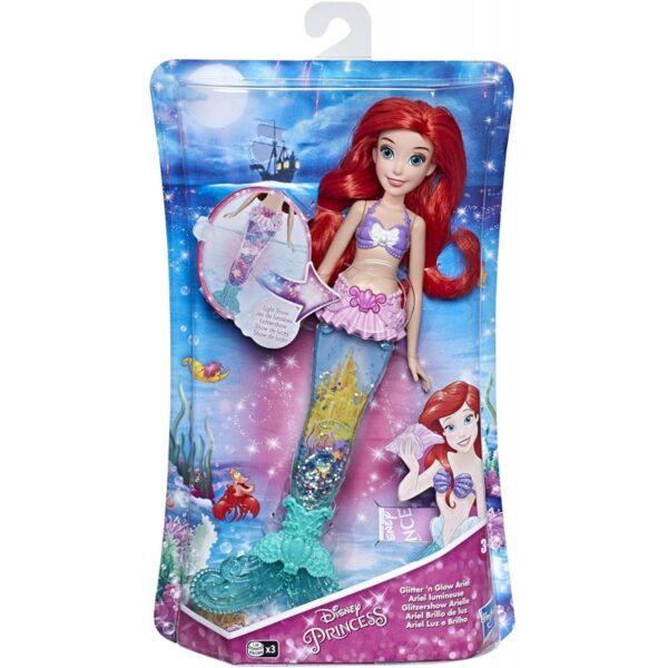 Disney Princess Glitter N Glow Ariel Γοργόνα Με Ουρά E6387 3-4 ετών, 4-5 ετών Κορίτσι Disney Princess Disney princess