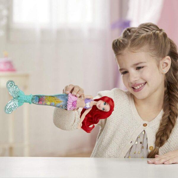 Disney princess Disney Princess Κορίτσι 3-4 ετών, 4-5 ετών Disney Princess Glitter N Glow Ariel Γοργόνα Με Ουρά E6387