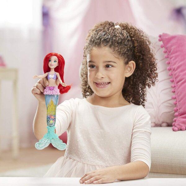 Disney Princess Disney princess Disney Princess Glitter N Glow Ariel Γοργόνα Με Ουρά E6387 Κορίτσι 3-4 ετών, 4-5 ετών