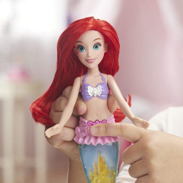 Disney Princess Glitter N Glow Ariel Γοργόνα Με Ουρά E6387 Κορίτσι 3-4 ετών, 4-5 ετών Disney princess Disney Princess