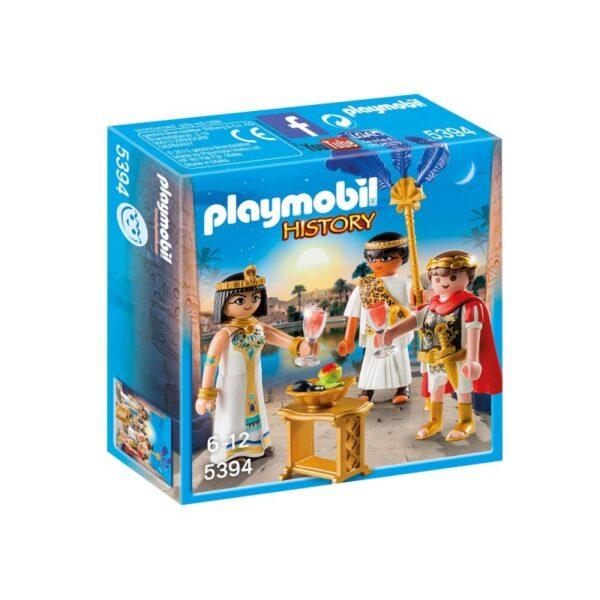 Playmobil History Καίσαρας Και Κλεοπάτρα 5394 Playmobil, Playmobil History Αγόρι 5-7 ετών, 7-12 ετών