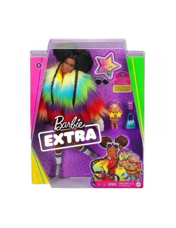 Barbie Extra-Rainbow Coat GVR04 BARBIE Κορίτσι 3-4 ετών, 4-5 ετών, 5-7 ετών