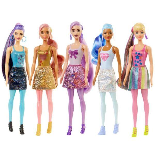 Barbie Color Reveal Shimmer Series W1-5 Σχέδια GTR93  Κορίτσι 3-4 ετών, 4-5 ετών, 5-7 ετών BARBIE